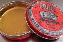 Reuzel RED High Sheen Pomade - Помада для волос на водной основе  Бриолин