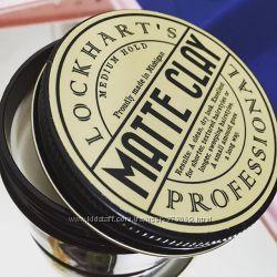 Lockharts Professional Matte Clay Medium Hold - Матовая Глина