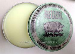 Reuzel GREEN Medium Hold Grease - Бриолин Помада для укладки волос Schorem