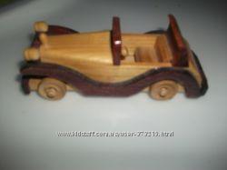 Деревянная машина Кабриолет