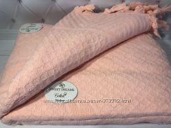 Махровые жаккардовые простыни 200-220 см