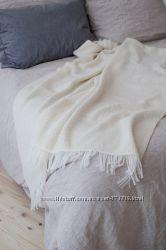 Плед вязаный шерстяной 120-150 см