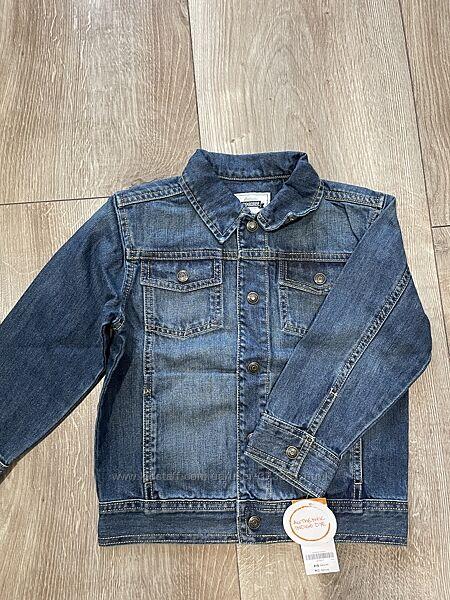 Джисовая курточка Gymboree 4Т-5Т