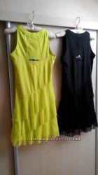 Платья спортивные adidas лимонное и черное