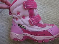 ботиночки термо для девочки