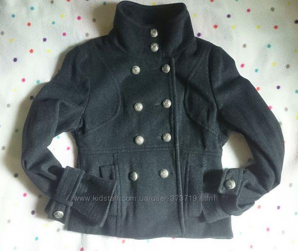 укороченное пальтожакет в стиле милитари