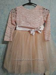 Красивое нежное платье