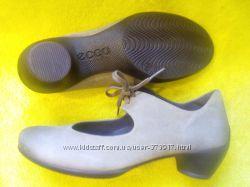 Новые серые туфли ЕССО натуральная кожа р. 36, 37