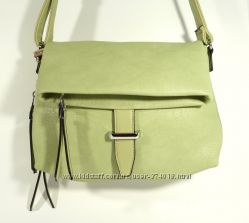 Стильный клатч, сумочка Batty 2640 мятная, расцветки в наличии