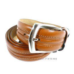 Ремень мужской кожаный универсальный Tony Bellucci коричневый