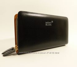 Клатч кожаный мужской MontBlanc 8106-4 черный