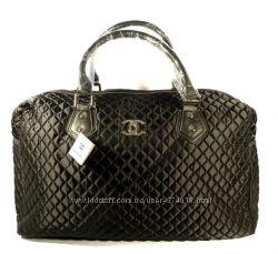 1d11698d143a Дорожная сумка - саквояж Chanel средняя стеганая, текстиль, расцветки
