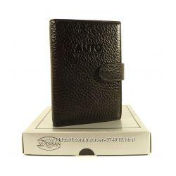Мужская кожаная документница авто права  паспорт desisan 102, варианты