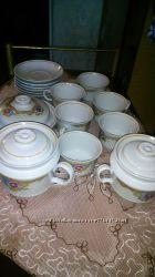 Новый. Продам новый шикарный чайный сервиз на 6 персон 15 предметов