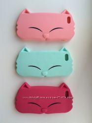 Чехол для iPhone 5, 5s, 5se, Kiki мордочка кошки