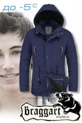 Зимние и демисезонные подростковые куртки Braggart Teenager