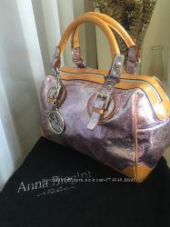 Кожаные итальянские сумки Ferrе и Anna Biagini, оригинал