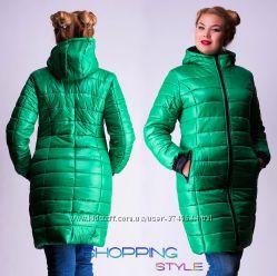 4 расцветки Стильные куртки. 46-54 размера