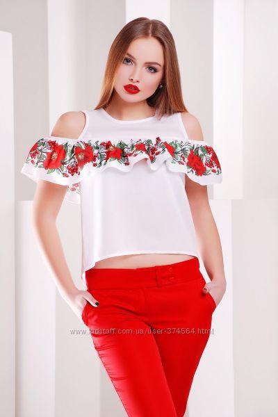 2 расцветки оригинальной блузы