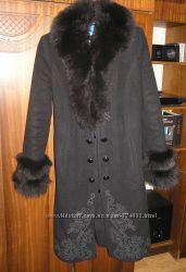 Пальто зимнее  в хорошем состоянии р. 44-46