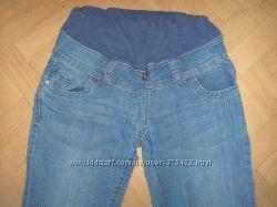 Очень хорошие стрейчевые джинсы для будущей мамы