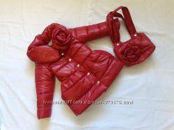 красивые  деми курточки для девочки