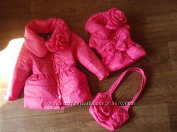 деми жилетки, курточки для девочек