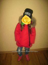 зимние, деми курточки- с натуральным мехом