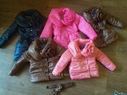 шикарные весенние жилеточки, курточки  для девочек