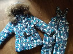 зимние комбинезончики, пальто