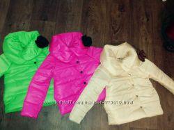 красивые-деми курточки для девочек