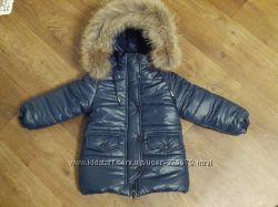 шикарные зимние  курточки с мехом песца , блюфрост