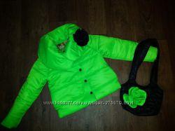 красивые курточки с сумочкой