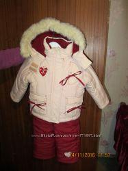 Зимняя куртка и полукомбез KIKO