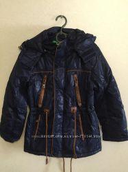 Стильная курточка-парка для мальчика