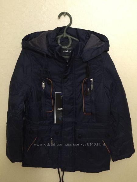 Демисезонная куртка-парка для мальчика