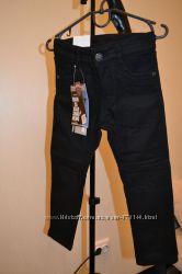 Теплые на флисе коттоновые брюки