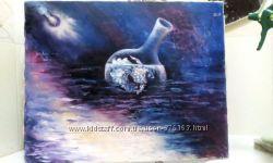 Картина Иллюзия 40х50, маслохолст
