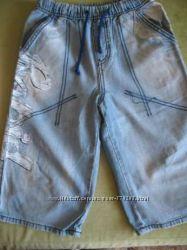 Бриджи джинсовые Gee Jay для мальчика