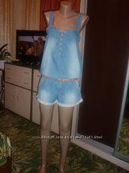 Суперский джинсовый комбез от ТМ DENIM р. 10 38