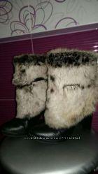 Очень теплые зимние сапоги. 39 размер