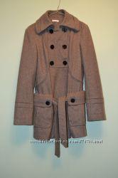 Шерстяное пальто Promod Франция. Размер 38 анг. 10.