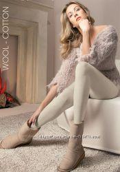 Молочные колготки шерсть хлопок - Италия Filodora, Golden Lady, Mura
