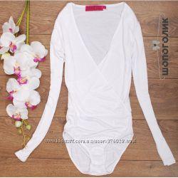 Трико балерины - белоснежное боди от Boohoo