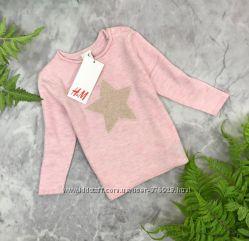 Клёвый свитер со звездой для девочки от H&M  SH1845156 H&M