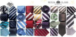 Шелковые галстуки с пропиткой Royal class Германия