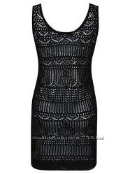 Вязанный топ-майка-туника-платье 16uk, 44евро George Великобритания