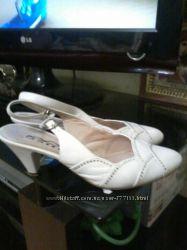 свадебные белые туфли, босоножки