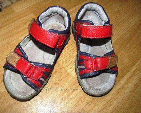 Кожаные босоножки-сандалики Lilin shoes 14см