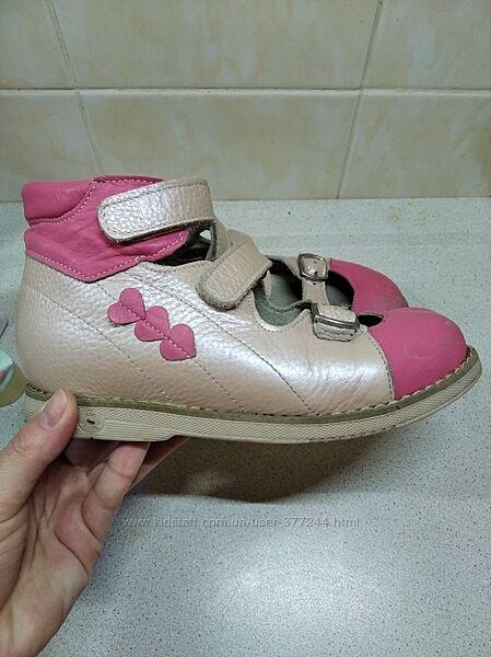 Туфли Экоби ортопедические для девочки 31 размер. Весна. Осень.